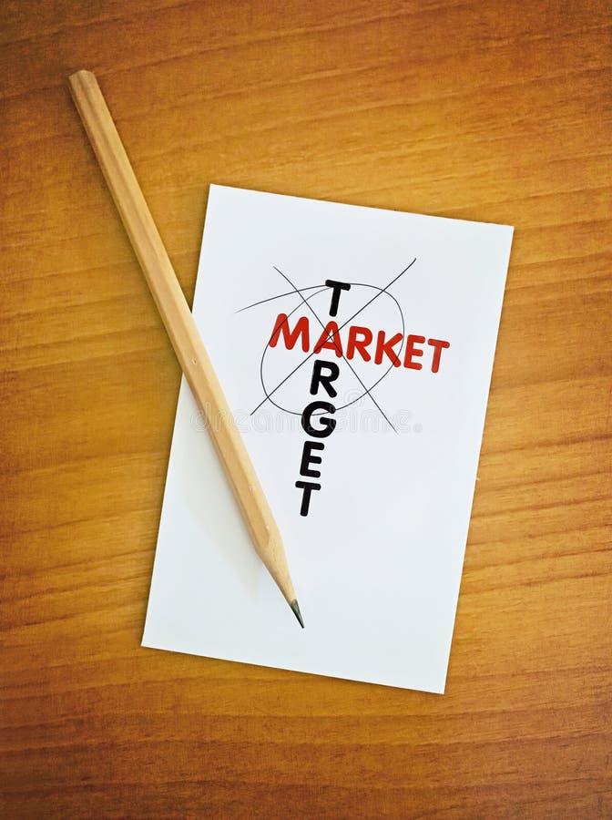 目标市场 库存图片