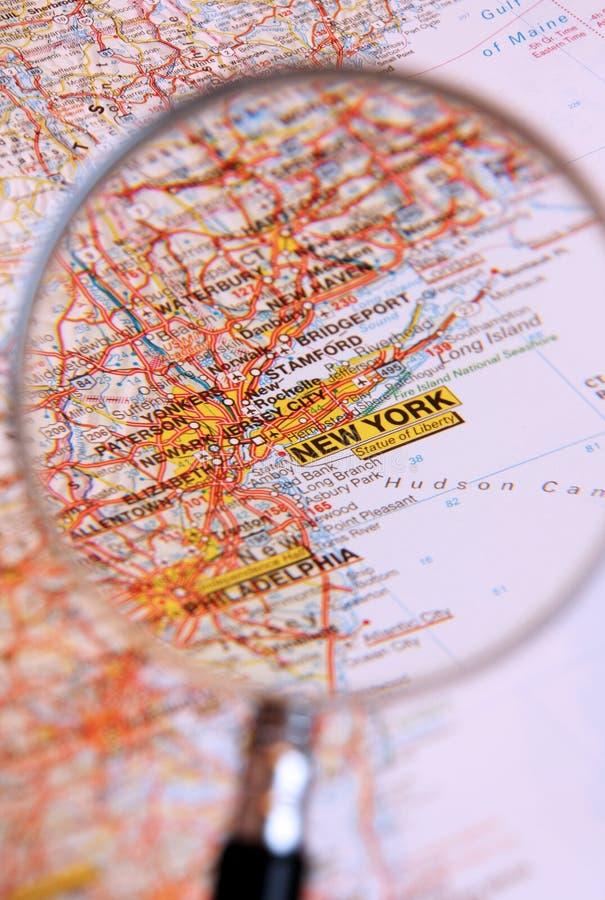 目的地纽约 免版税库存图片