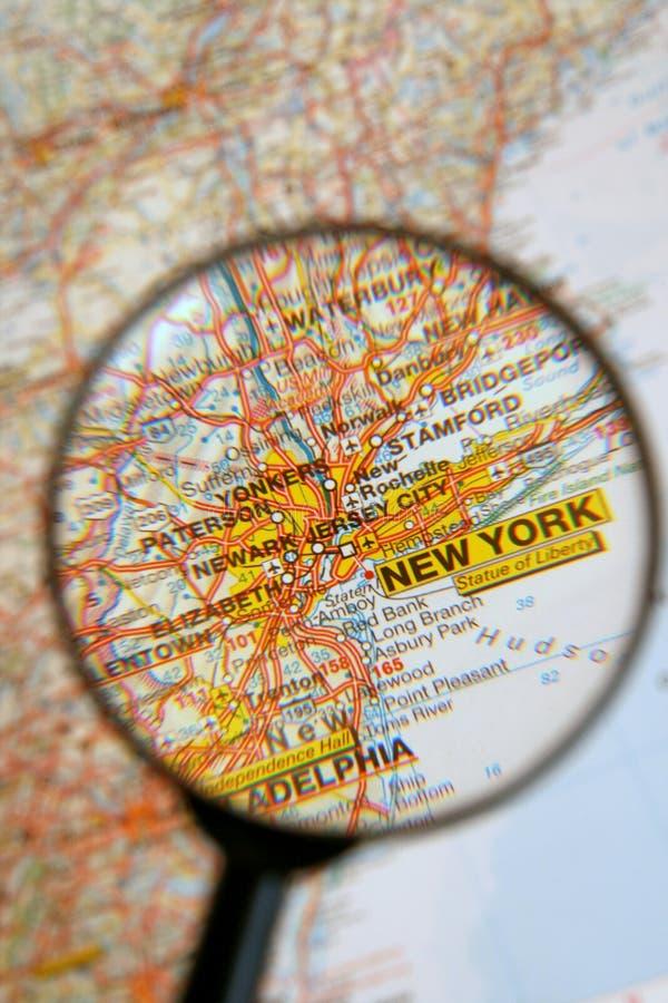 目的地纽约 免版税库存照片