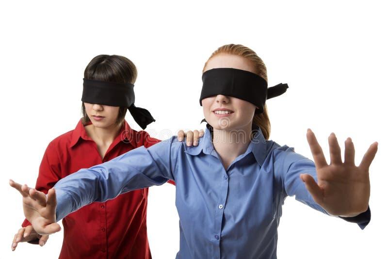 盲目导致 免版税库存图片