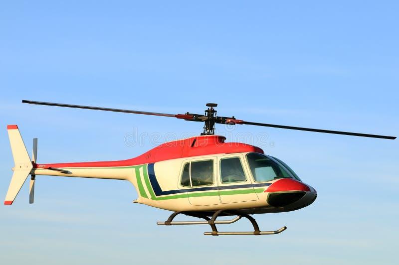 直升机一 免版税库存照片
