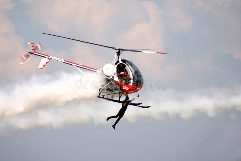 直升机传单 免版税库存照片