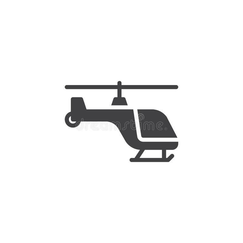 直升机传染媒介象 向量例证