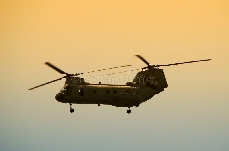 直升机军人 库存照片