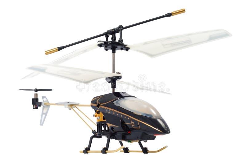 直升机玩具 图库摄影