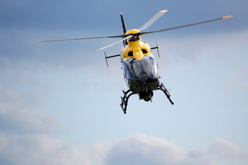 直升机警察 库存照片