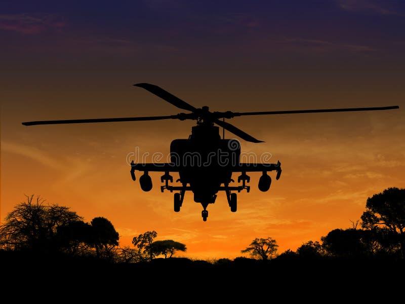 直升机 库存图片