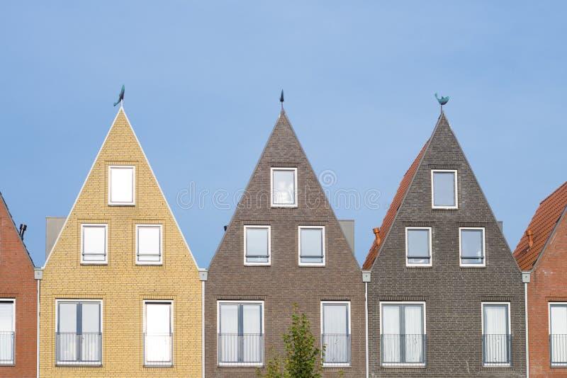 相似的屋顶 免版税库存照片