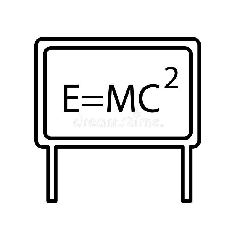 相对在白色背景、相对标志、标志和标志隔绝的象传染媒介在稀薄的线性概述样式 向量例证