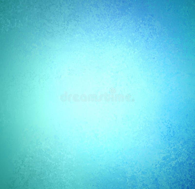 相当与葡萄酒纹理难看的东西的蓝色背景在黑暗的边界设计 皇族释放例证
