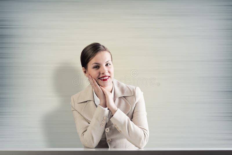 相当女实业家 库存照片