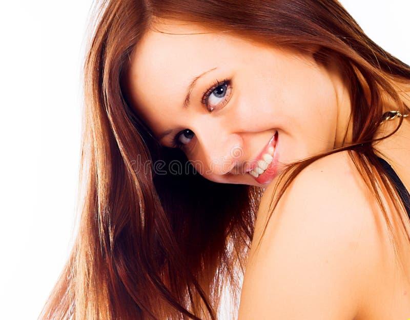 相当性感的妇女年轻人 免版税库存照片