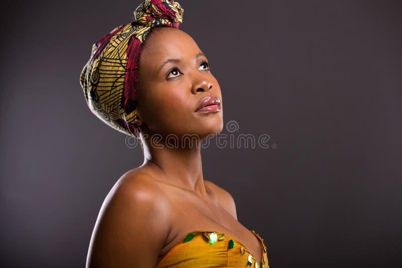 相当非洲妇女 图库摄影
