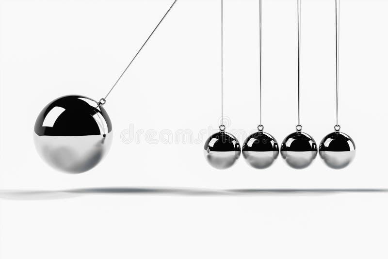相撞的场面与网横幅的更大的球形 皇族释放例证