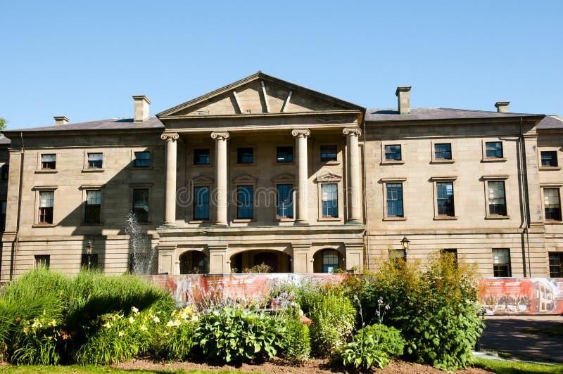 省家的夏洛特敦-加拿大 免版税库存图片