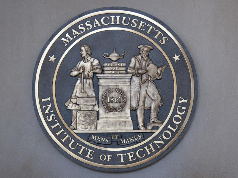 麻省理工学院, MIT波士顿 免版税库存图片