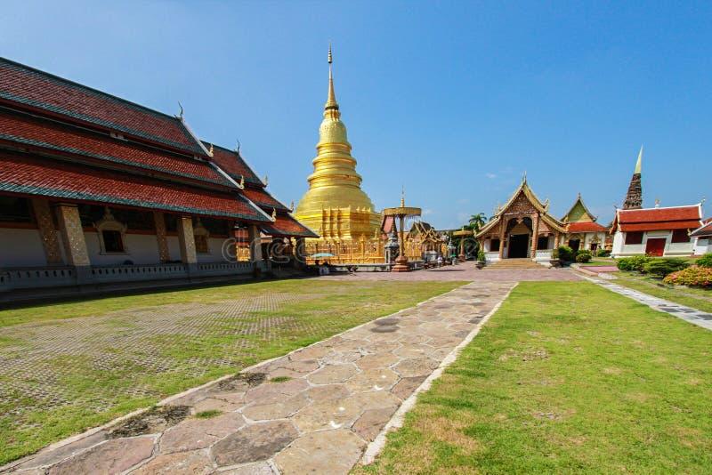 省,泰国,亚洲,早晨,塔,寺庙 图库摄影