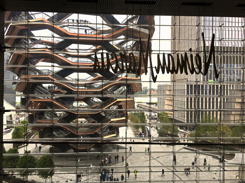 看从Neiman马库斯在曼哈顿 免版税库存图片
