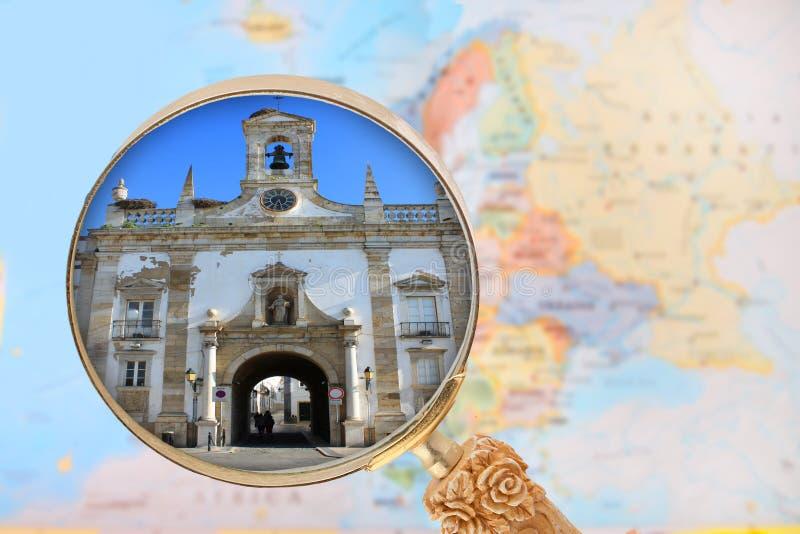 看在里斯本葡萄牙 库存照片