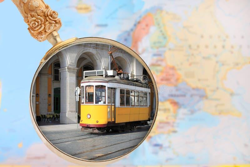 看在里斯本葡萄牙 免版税库存照片