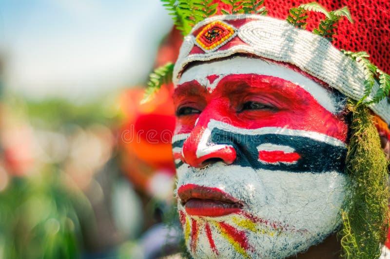 看在巴布亚新几内亚疏远 免版税图库摄影