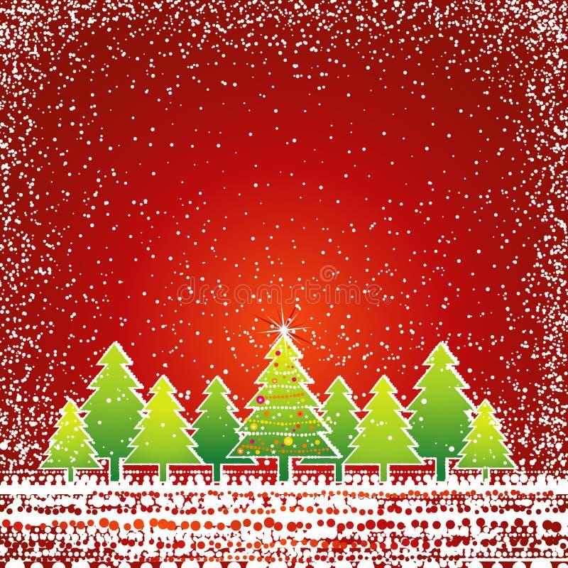 看板卡圣诞节向量 库存例证