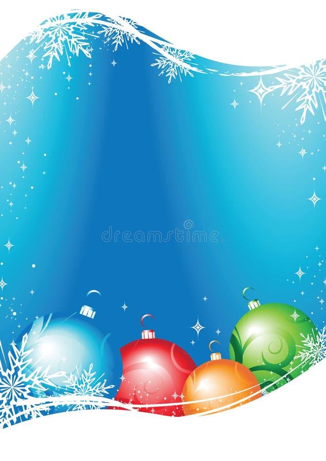 看板卡圣诞节向量 向量例证