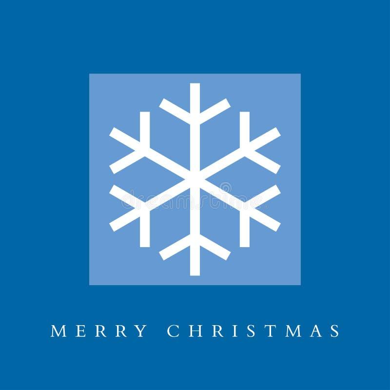 看板卡圣诞节快活的雪花 库存图片