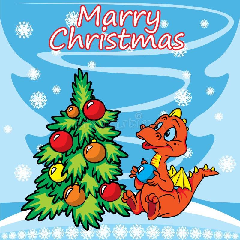 Download 看板卡圣诞节龙问候结构树 向量例证. 插画 包括有 季节性, 红色, 茴香, 颜色, 看板卡, 竹子, 礼品 - 22356381