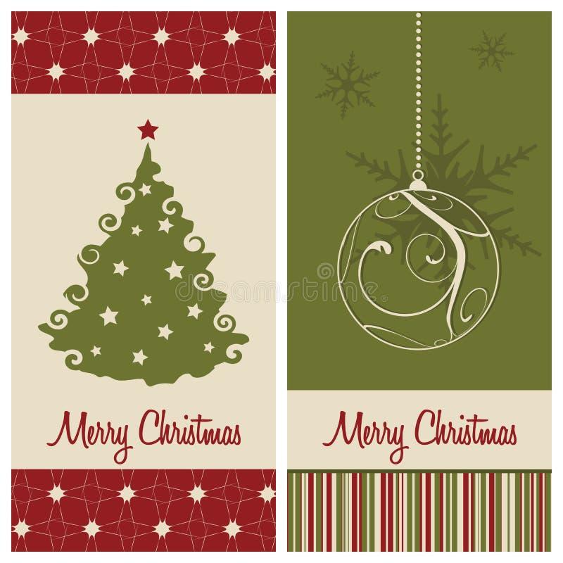 看板卡圣诞节 向量例证