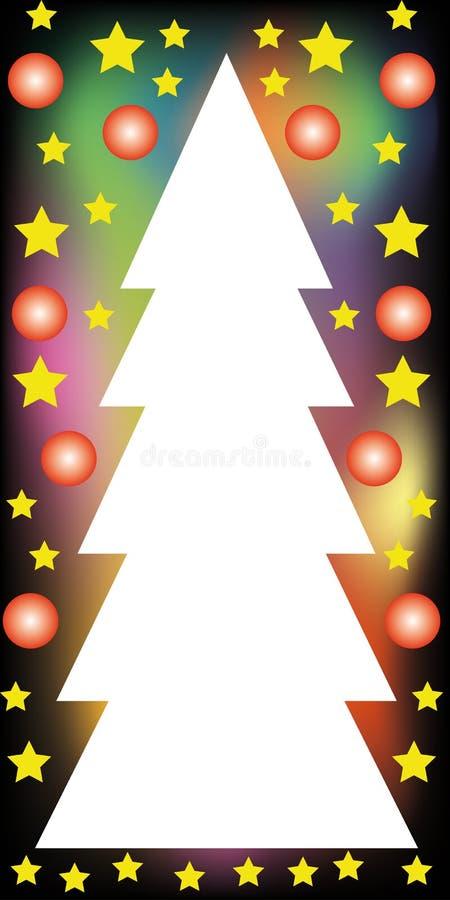 看板卡圣诞节 皇族释放例证