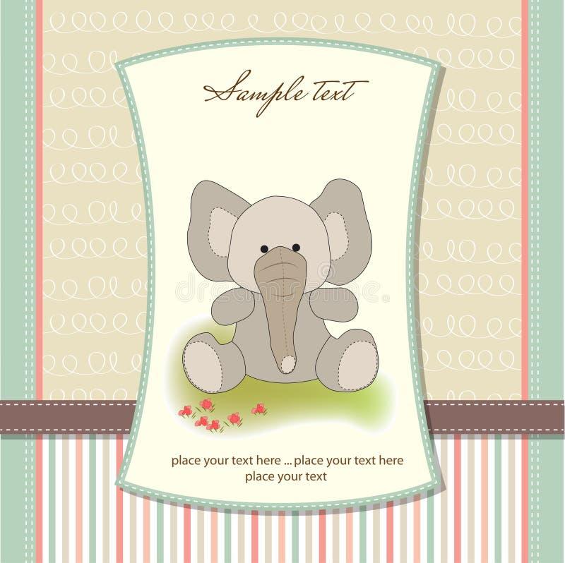 Download 看板卡大象问候 库存例证. 插画 包括有 喜悦, 蓝色, 背包, 问候, 例证, 附注, 兴奋, 活动, 定制 - 22350944