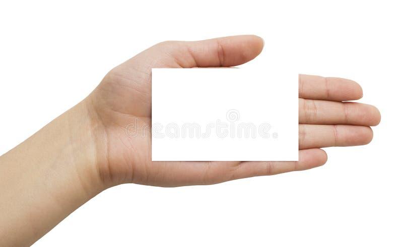 看板卡现有量纸张 库存图片