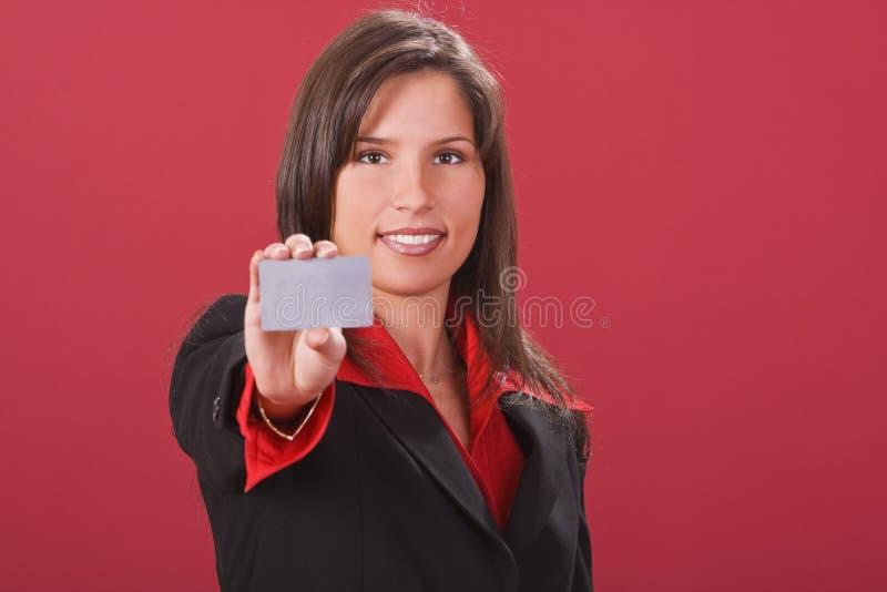 看板卡赊帐作为 免版税库存照片