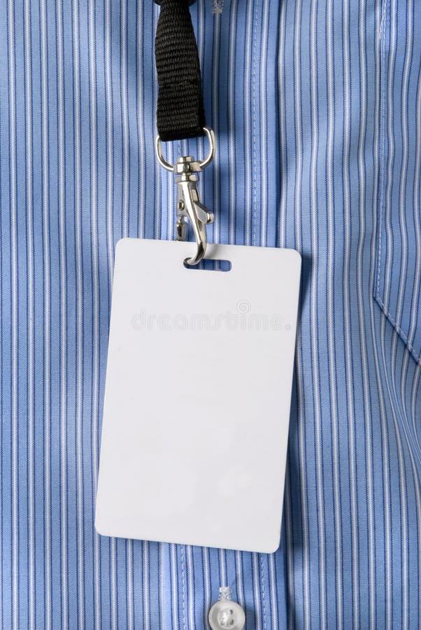 看板卡身分 免版税库存图片