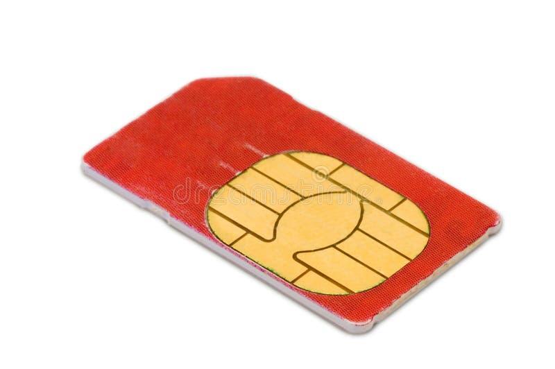看板卡sim 免版税库存图片