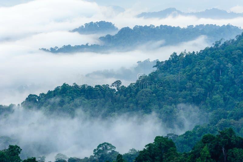 看法日出自然山风景 库存图片