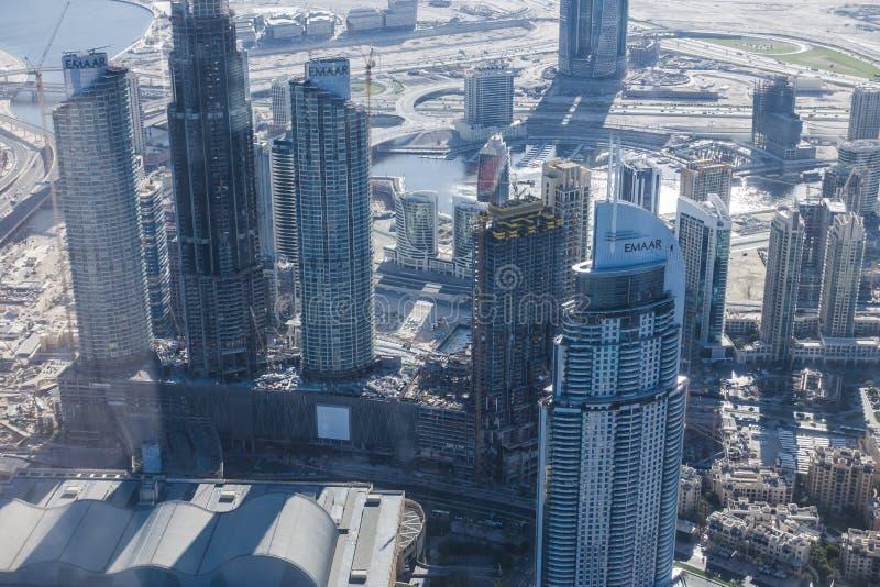 看法街市迪拜 库存图片