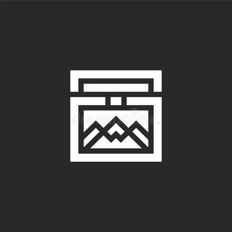 看法象 网站设计和机动性的,应用程序发展被填装的看法象 从被填装的旅店收藏的看法象 向量例证