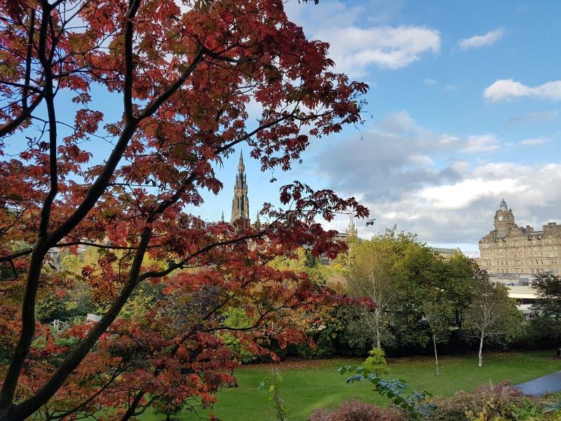看法Edimburgo 图库摄影