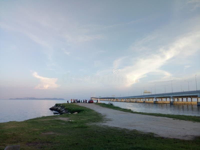 看法Pulau Pinang 库存照片