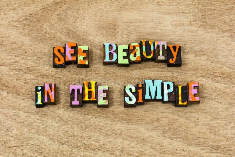 看见简单的秀丽字符爱欣赏微笑享用 库存照片
