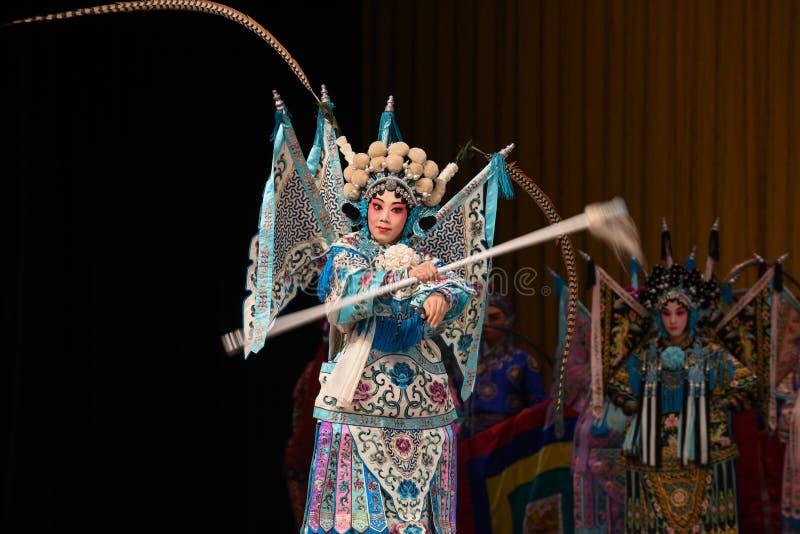 """看起来杨Family†的女性将军北京Opera""""妇女将军 库存图片"""