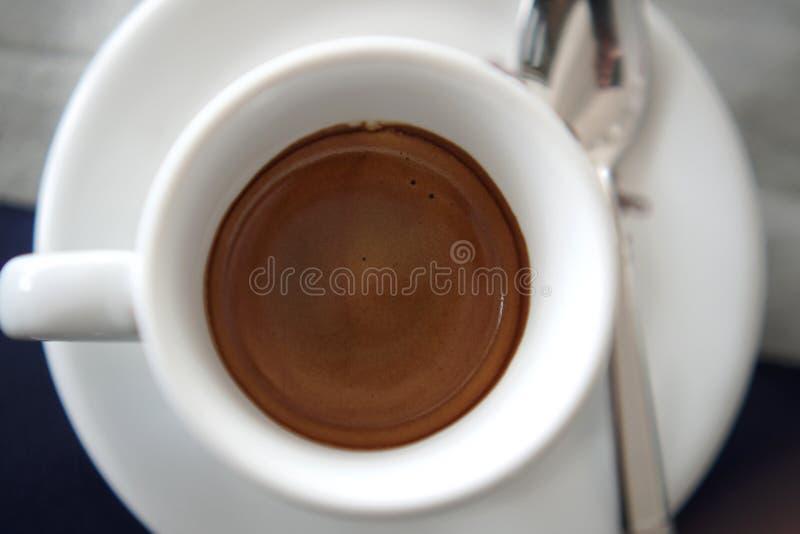 真实的意大利咖啡 库存图片