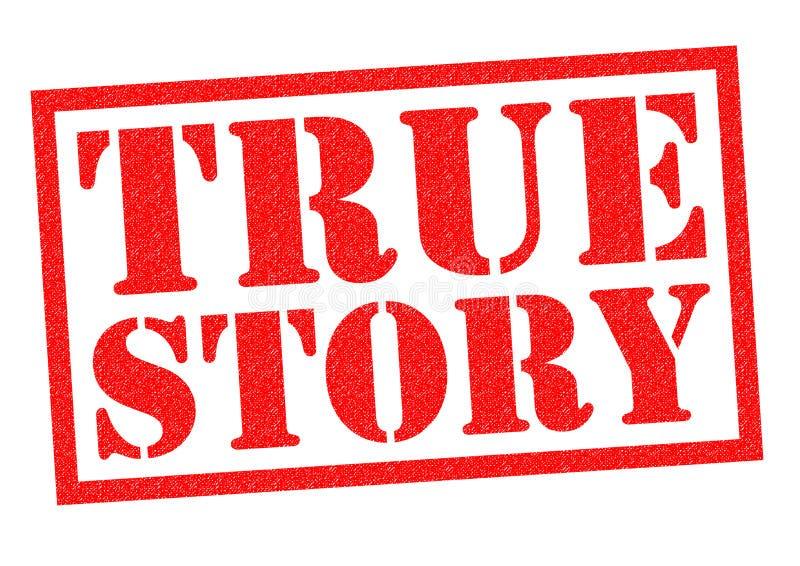 真实的故事 库存例证