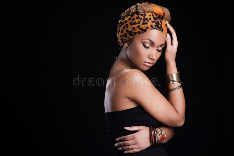 真实的非洲秀丽 免版税图库摄影
