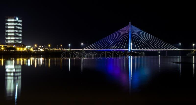 真正的桥梁 库存图片