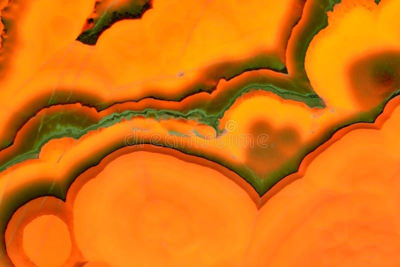 真正的自然'石华橙色Nuvolato'纹理样式 免版税库存图片