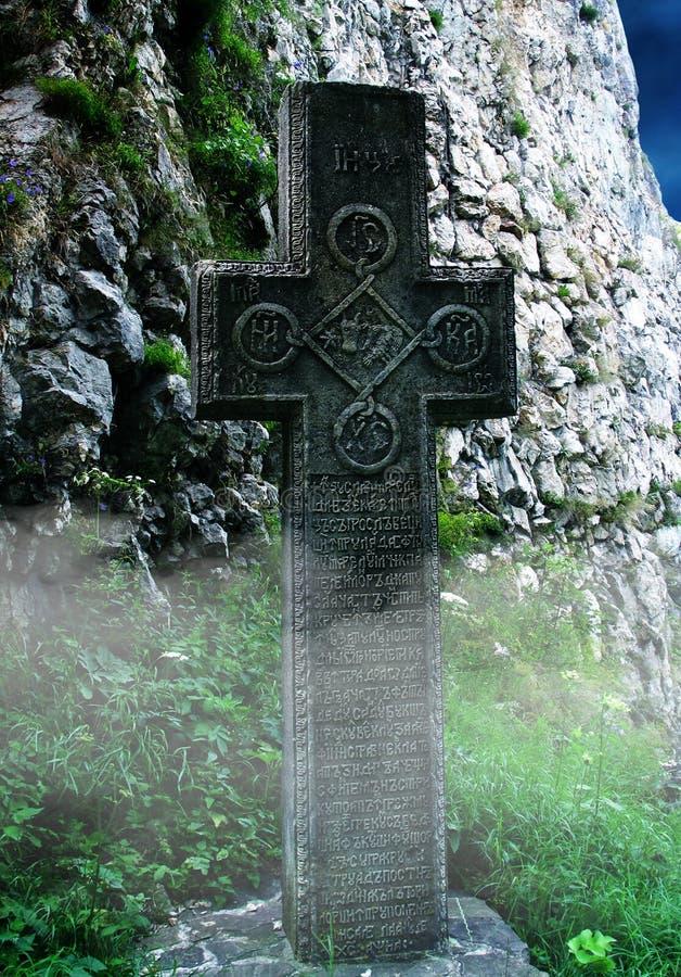 真正的计数德雷库拉的坟茔 库存照片