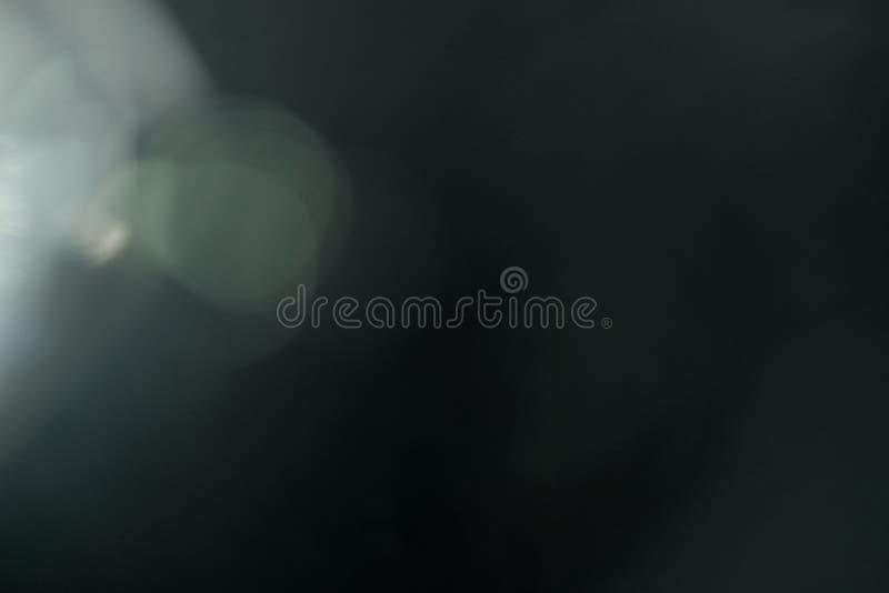 真正的透镜火光光线影响 光芒泄漏 免版税库存图片